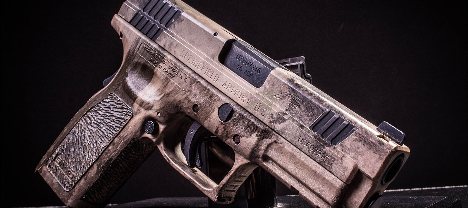 Handgun Coating
